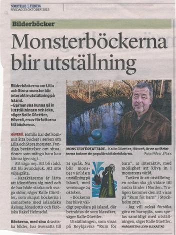 Kalle intervj. low utställn. Island