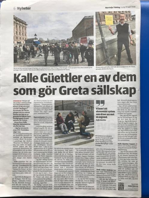 Norrtelje Tidning 30 april 19