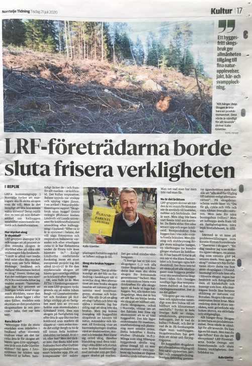 LRF-företrädarna borde sluta frisera verkligheten low